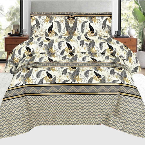 Bed Sheet Design AMJ-N-707 - Chenab Stuff