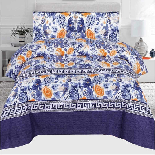 Bed Sheet Design AMJ-N-709 - Chenab Stuff