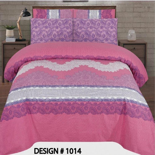 Bed Sheet Design AMJ-N-1016 - Chenab Stuff