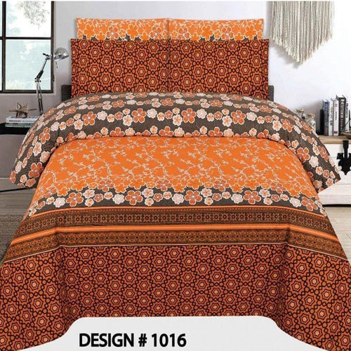 Bed Sheet Design AMJ-N-1017 - Chenab Stuff