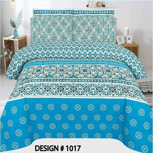 Bed Sheet Design AMJ-N-1018 - Chenab Stuff