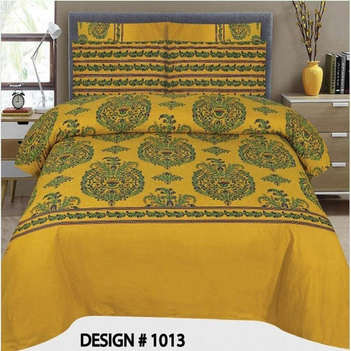 Bed Sheet Design AMJ-N-1019 - Chenab Stuff