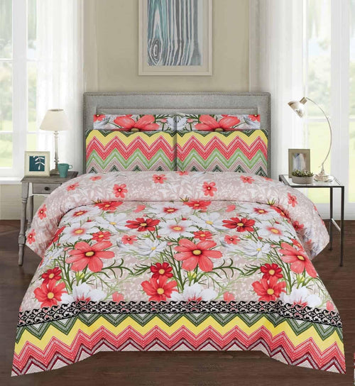 Comforter Set 6 Pcs Design 201 - Chenab Stuff