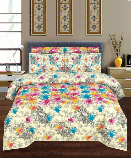 Comforter Set 6 Pcs Design 200 - Chenab Stuff