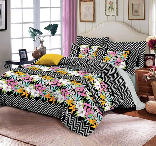 Comforter Set 6 Pcs Design 197 - Chenab Stuff