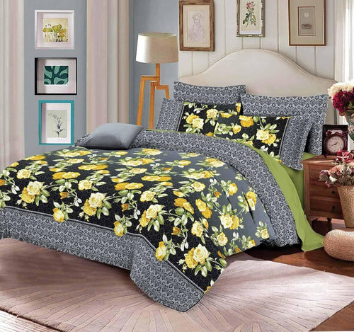 Comforter Set 6 Pcs Design 198 - Chenab Stuff