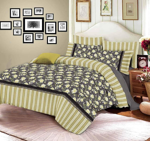 Comforter Set 6 Pcs Design 196 - Chenab Stuff