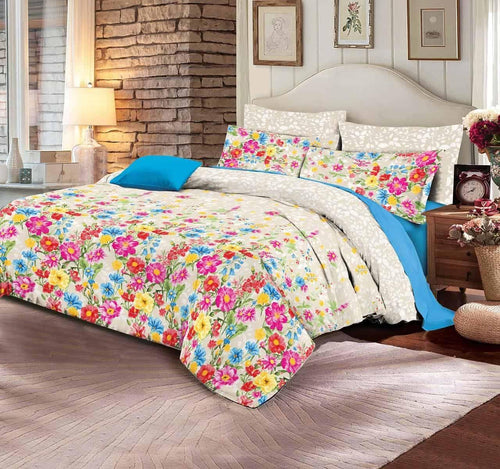Comforter Set 6 Pcs Design 195 - Chenab Stuff
