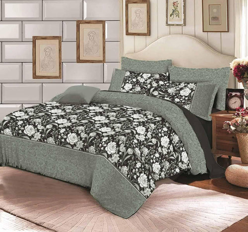 Comforter Set 6 Pcs Design 194 - Chenab Stuff