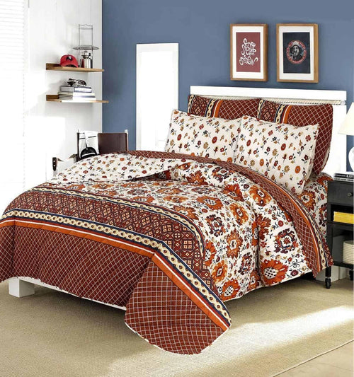 Comforter Set 6 Pcs Design 192 - Chenab Stuff