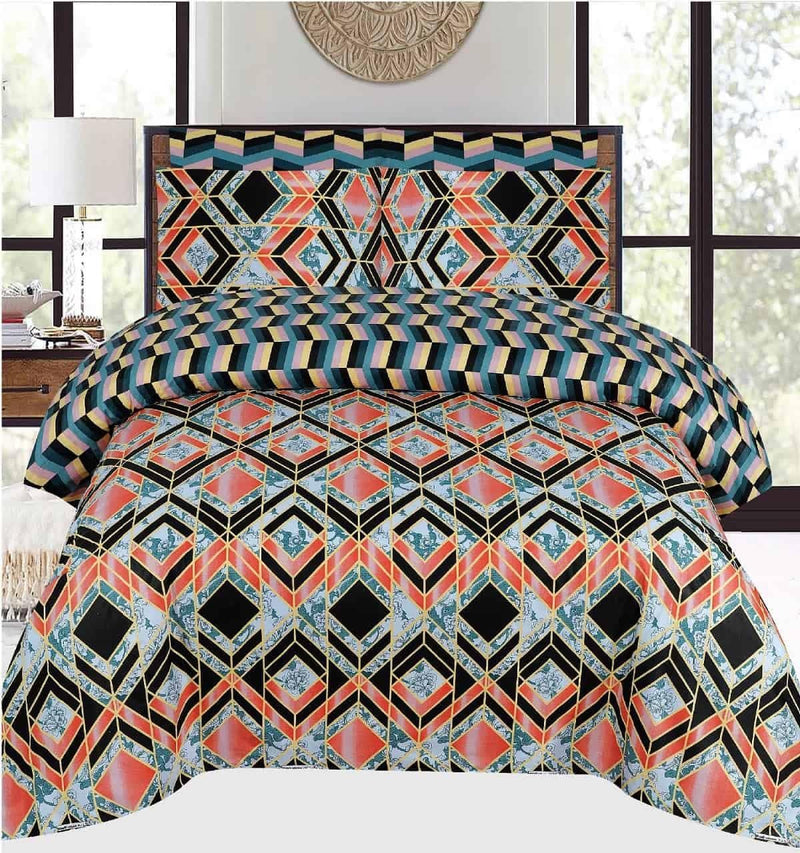 Comforter Set 6 Pcs Design 181 - Chenab Stuff