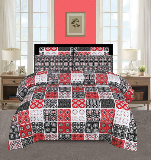 Comforter Set 6 Pcs Design 175 - Chenab Stuff