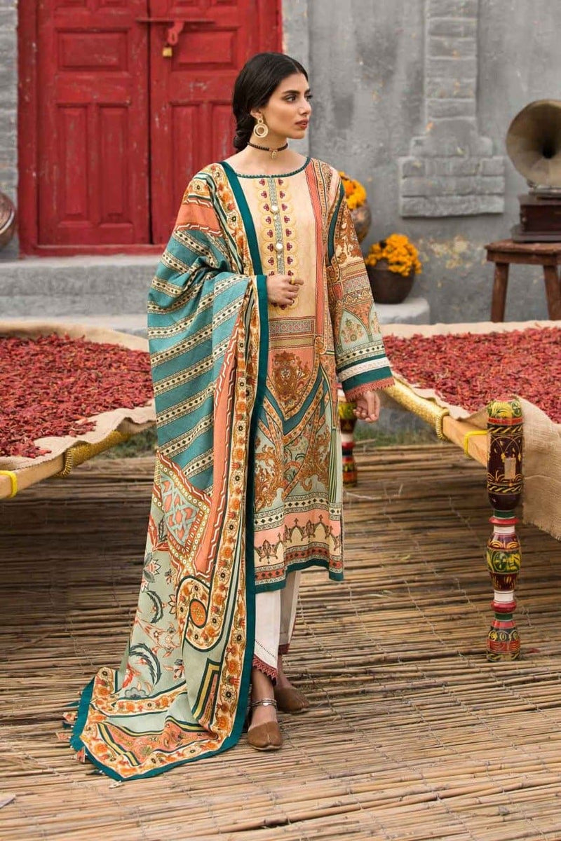Rang ja RJ 3111A Embroidered Three Piece Lawn Collection