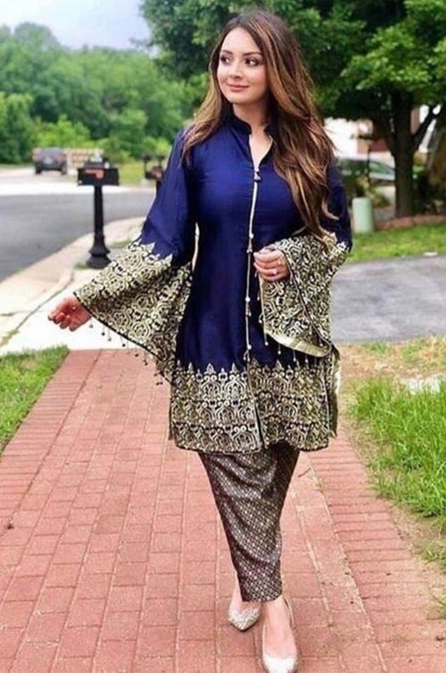 Maria B D-3118 Embroidered two piece Lawn Collection - Chenab Stuff
