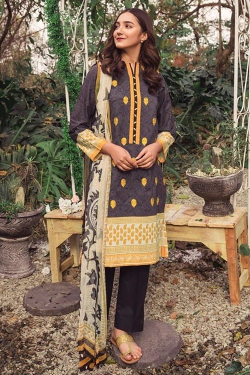 Orient OR-3147 Embroidered Three Piece Lawn Collection