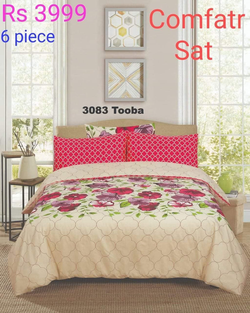 Comforter Set 6 Pcs Design ZC-3083