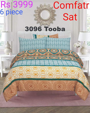 Comforter Set 6 Pcs Design ZC-3096