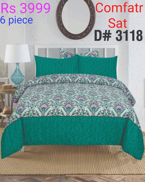 Comforter Set 6 Pcs Design ZC-3118