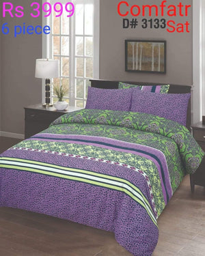 Comforter Set 6 Pcs Design ZC-3133
