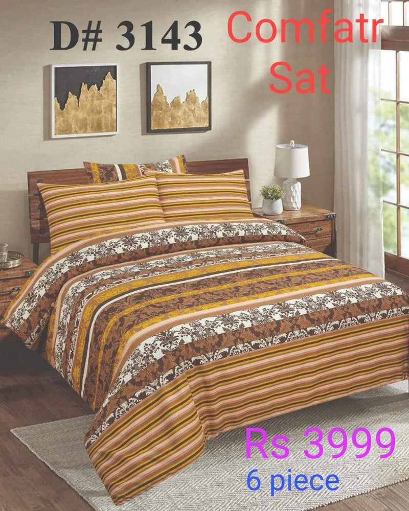 Comforter Set 6 Pcs Design ZC-3143