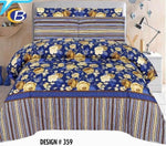 Bed Sheet Design ZC-C-359 - Chenab Stuff