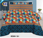 Bed Sheet Design ZC-C-361 - Chenab Stuff