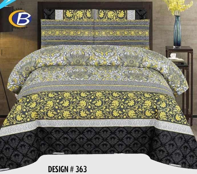 Bed Sheet Design ZC-C-363