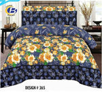 Bed Sheet Design ZC-C-365 - Chenab Stuff