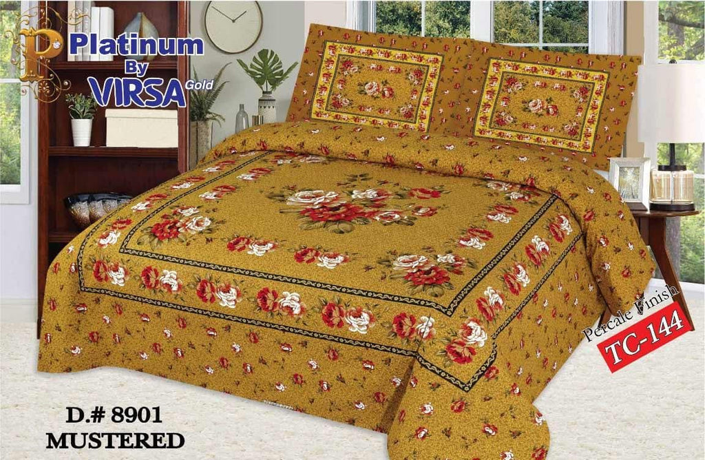 Panel Bed Sheet Design ZCP-Mustered