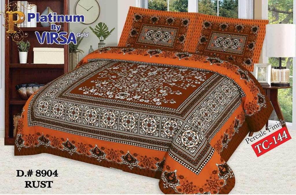 Panel Bed Sheet Design ZCP-Rust