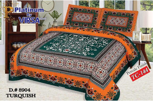 Panel Bed Sheet Design ZCP-Turquish