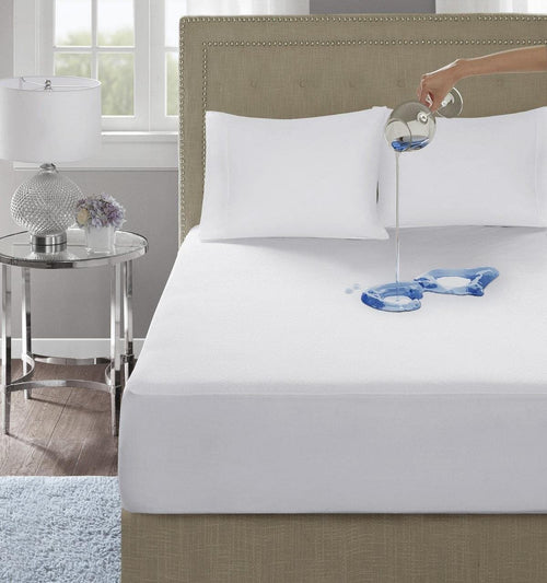 Waterproof Mattress Protector Double Fitted Bed Sheet King Size: 72 X 78 - Chenab Stuff