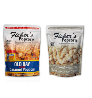 Fisher's Popcorn Holiday Combo