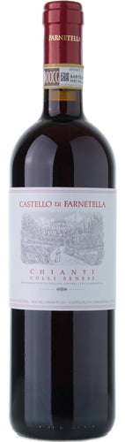 Castello di Farnetella Chianti Colli Senesi 2015 - 89 POINTS