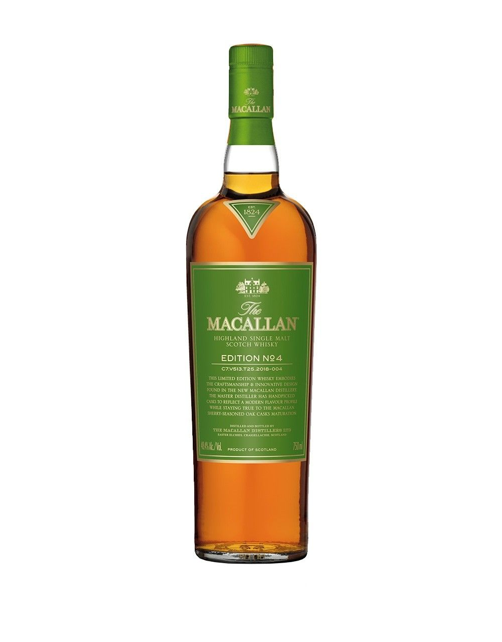 The Macallan Edition No. 4 Limited Edition - 1 Bottle