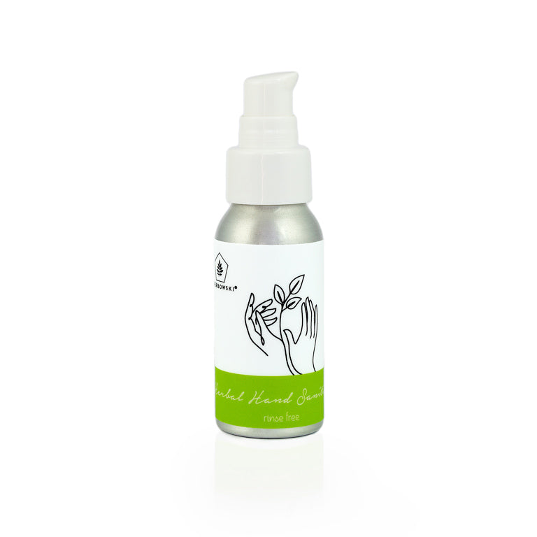 herbal natural hand sanitiser moisturiser