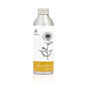 Organic Arnica Oil 160 ml in aluminium bottle recyclable