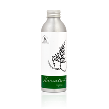 Organic Horsetail Oil 160 ml in aluminium bottle recyclable