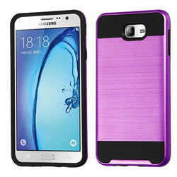 - Fusion Metal Design Hybrid Rugged Case Purple/black Phone Cases & Covers