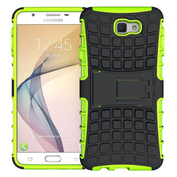 - Track Tire Design Rugged Hybrid Case With Kickstand Neon Green/black Phone Cases & Covers