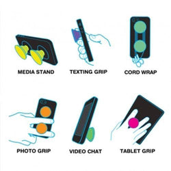 - Madala Purple Expandable Phone Grip and Stand, Purple