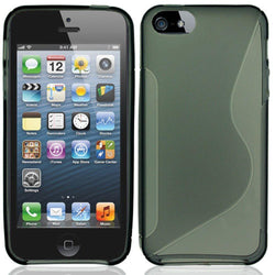 - S-Shape Tpu Case Gray Phone Cases & Covers