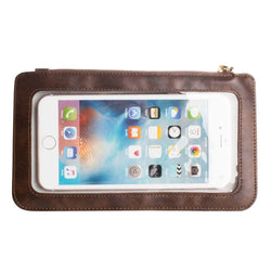 Blackberry 8800 - Full Screen View Wristlet with Complete Touch Control, Brown