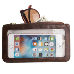 Kyocera Rise C5155 - Full Screen View Wristlet with Complete Touch Control, Brown