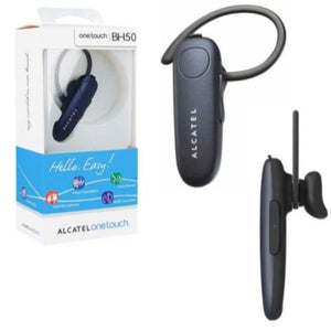 BH50 Wireless Bluetooth Headset Black for Alcatel 7 - Bluetooth & Audio