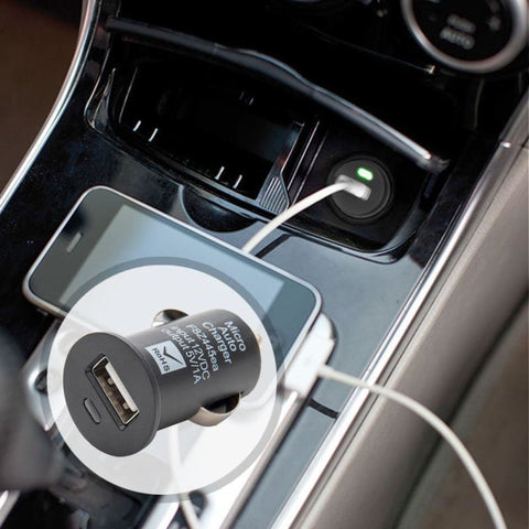 Car Charger Usb Adapter Black - Phone Chargers