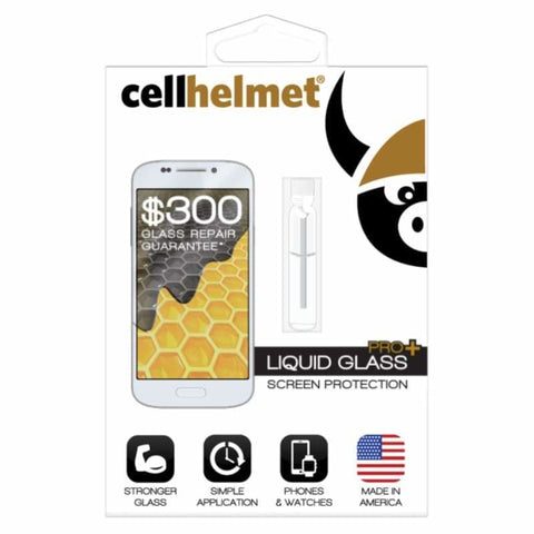 Original CellHelmet Liquid Glass PRO+ Screen Protection - Screen Protectors