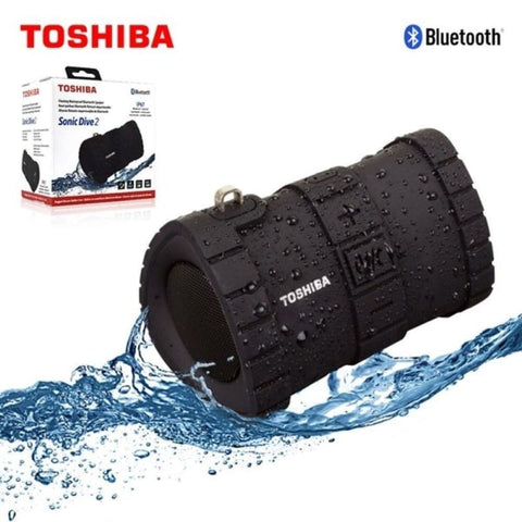 Toshiba Sonic Dive 2 Floating Waterproof Wireless Portable Speaker Black - Bluetooth & Audio