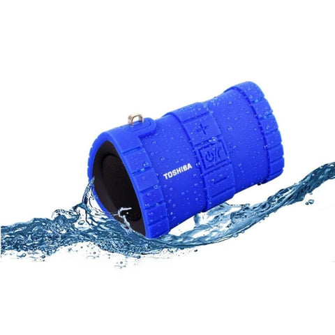 Toshiba Sonic Dive 2 Floating Waterproof Wireless Portable Speaker Blue - Bluetooth & Audio