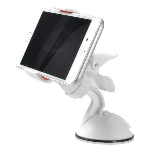 Universal Car Phone Holder Mount White - Phone Holders Holsters & Belt Clips